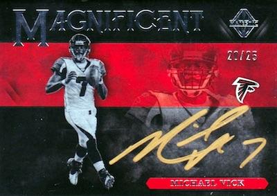 Magnificent Signatures Michael Vick