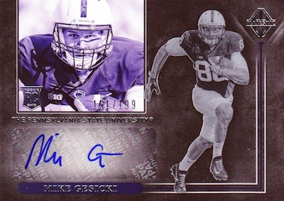 Majestic Rookie Signatures Mike Gesicki