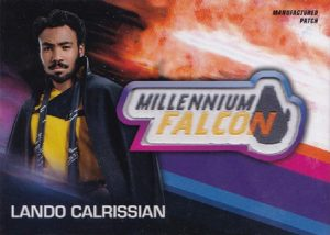 Manufactured Patch Relics Lando Calrissian