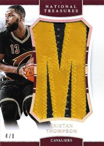 NBA Finals Nameplate Tristan Thompson