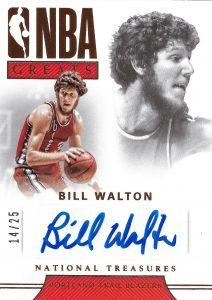NBA Greats Signatures Bronze Bill Walton