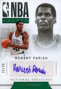 NBA Greats Signatures Robert Parish