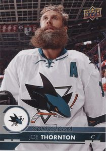 Oversized Series 1 Base Joe Thornton
