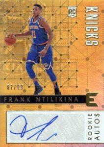 Rookie Autos Frank Ntilikina