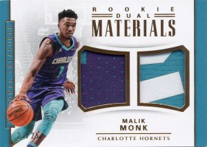 Rookie Dual Materials Malik Monk