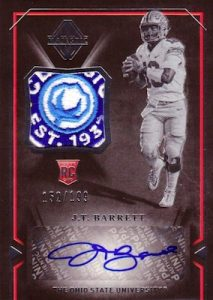 Rookie Scripted Swatches JT Barrett