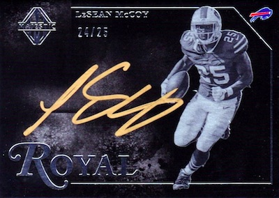 Royal Signatures LeSean McCoy