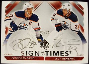 Sign of the Times 2 Connor McDavid, Leon Draisaitl