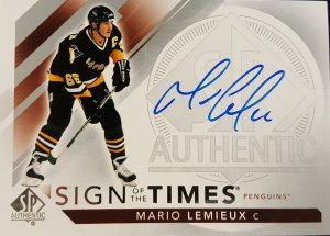 Sign of the Times Mario Lemieux