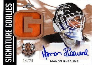 Signature Goalies Manon Rheaume