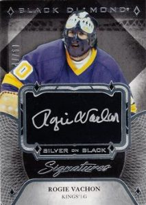 Silver on Black Signatures Rogie Vachon