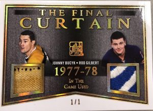The Final Curtain Johnny Bucyk, Rod Gilbert