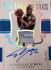Treasured Tags Auto Shaquille O'Neal