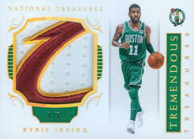 Tremendous Treasures Relics Kyrie Irving