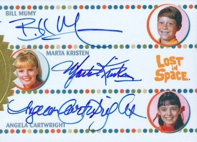 Triple Auto Bill Mumy, Marta Kristen, Angela Cartwright
