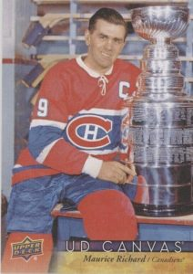 UD Canvas Retired Stars Maurice Richard