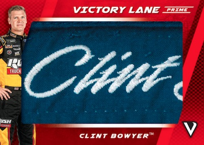Victory Lane Prime Patches Clint Bowyer