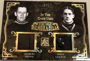 Vintage Memorabilia 2 Georges Vezina, Percy Lesueur