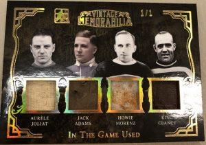 Vintage Memorabilia 4 Aurele Joliat, Jack Adams, Howie Morenz, King Clancy