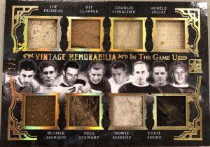Vintage Memorabilia 8 Joe Primeau, Dit Clapper, Charlie Conacher, Aurele Joliat, Busher Jackson, Nels Stewart, Howie Morenz, Eddie Shore