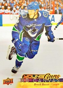 Young Guns Canvas Brock Boeser