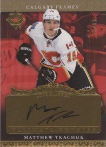 2006-07 Retro Autographed Ultimate Rookie Matthew Tkachuk