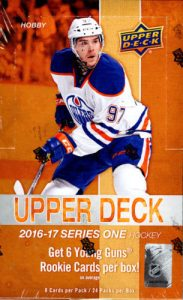 a1d6ada3d 2016-17 Series 1 - Hockey Card Checklist - Checklistcenter.com
