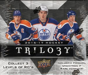 9918067048c 2016-17 Trilogy was an Upper Deck product that offered collectors a variety  of hits