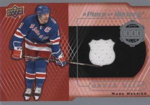A Piece of History 1000 Point Club Mark Messier