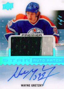 Acetate Star Auto Patch Wayne Gretzky