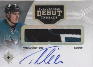 Auto Debut Threads Patch Timo Meier