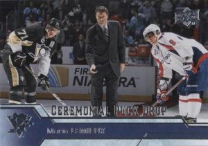 Ceremonial Puck Drop Mario Lemieux
