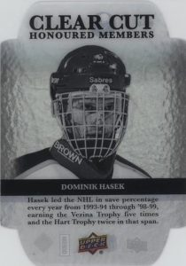 Clear Cut Honoured Members Dominik Hasek