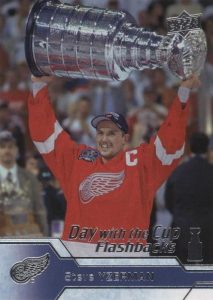 Day With The Cup Flashbacks Steve Yzerman