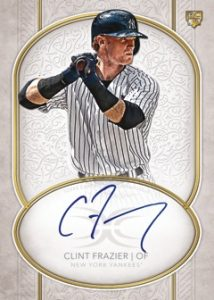 Definitive Rookie Auto Clint Frazier