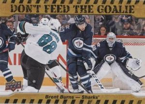Don't Feed the Goalie Brent Burns