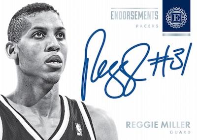 Endorsements Auto Reggie Miller