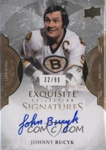 Exquisite Signatures Johnny Bucyk