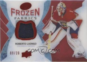 Frozen Fabrics Red Roberto Luongo