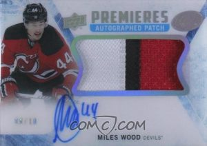 Ice Premieres Auto Patch Miles Wood