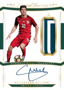 International Treasures Christian Pulisic