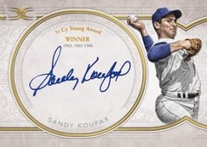 Legendary Auto Collection Sandy Koufax