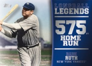 Longball Legends Babe Ruth