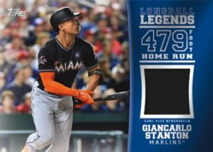 Longball Legends Relic Giancarlo Stanton