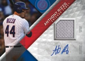 Major League Material Auto Relic Anthony Rizzo