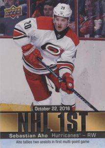 NHL 1st Sebastian Aho