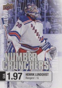 Number Crunchers Henrik Lundqvist
