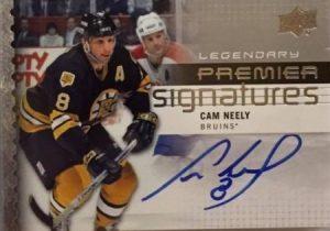 Premier Signature Legends Cam Neely