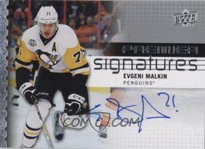 Premier Signatures Evgeni Malkin