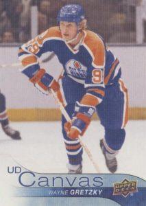 Retired Stars Canvas Wayne Gretzky